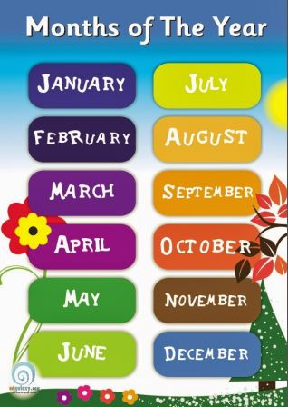 Months of the year (song)
