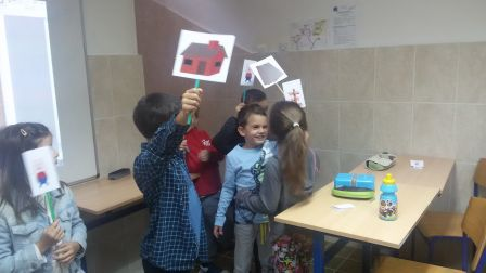 The True Story of Three Little Pigs_acting out